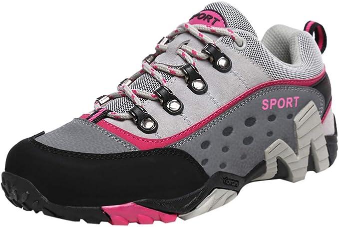 Zapatillas para Mujer Ocio Mujer Net Surface Flat Running Zapatos ...