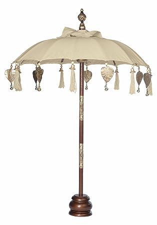 Captivating Luna Bazaar Balinese Festival Tabletop Paper Parasol (24 Inch Umbrella,  37u0026quot; ...