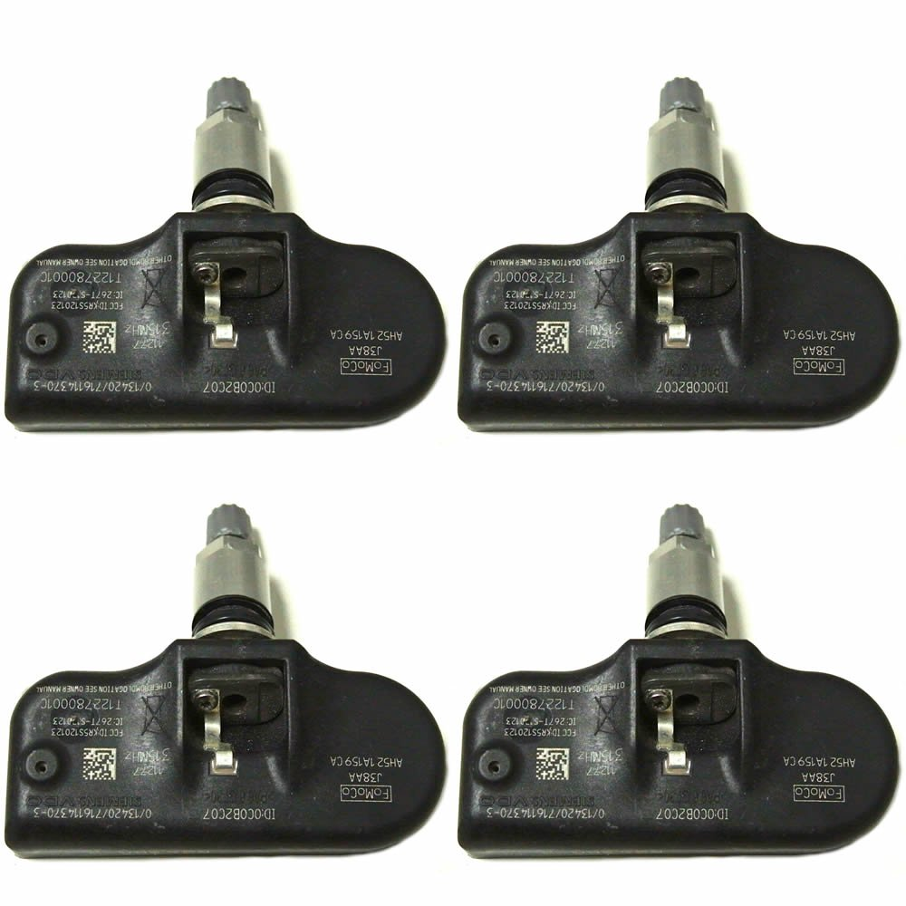 TPMS AH521A159CA 315 Mhz for Land Rover Tire Pressure Monitoring Sensors - SET of 4 OE Wheels