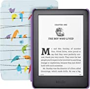 All-new Kindle Kids Edition - Includes access to thousands of books - Rainbow Birds Cover