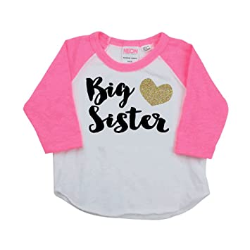 amazon com baby girl clothes big sister shirt pregnancy