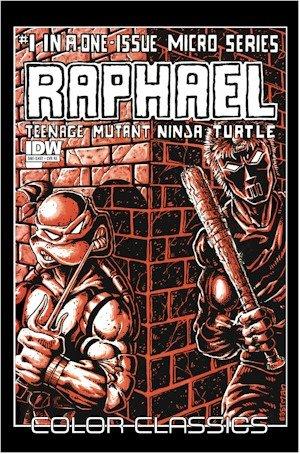 Teenage Mutant Ninja Turtles Color Classics: Raphael Micro-Series One Shot (Jetpack Exclusive Variant) (Teenage Mutant Ninja Turtles Color - Jet Series Micro