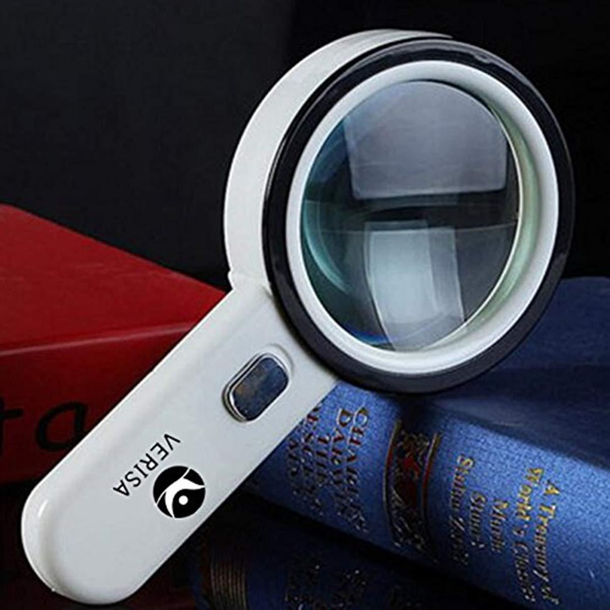da gioielliere con lente dingrandimento per gioielli The Wolf Moon/® 12 LED-Lente di ingrandimento 20 x