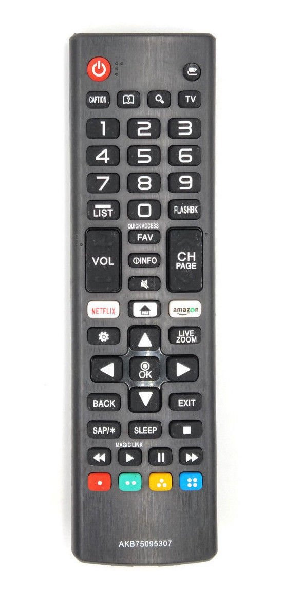 Replacement LG AKB75095307 4K UHD Smart TV Remote control. by AxionTeck