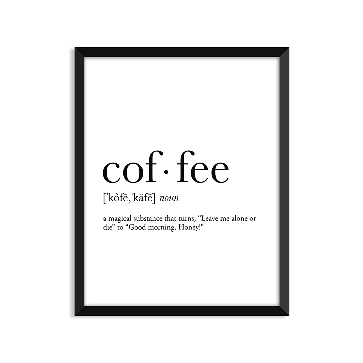 Coffee definition - Unframed art print poster or greeting card