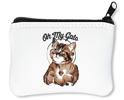 Oh My Gato Cat Billetera con Cremallera Monedero Caratera ...