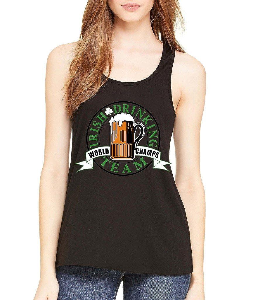 VISHTEA Irish Day Funny Official Drinking Tshirt T-Shirt Proud Irish Shamrock Shirts