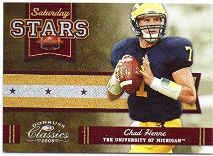 the latest 37792 8b8d0 Chad Henne 2008 Donruss Classics Saturday Stars Silver ...