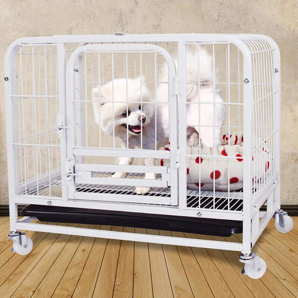 Amazon.com: Zhijie-cwl Dog Cage Cat Cage Square Tube Pet ...
