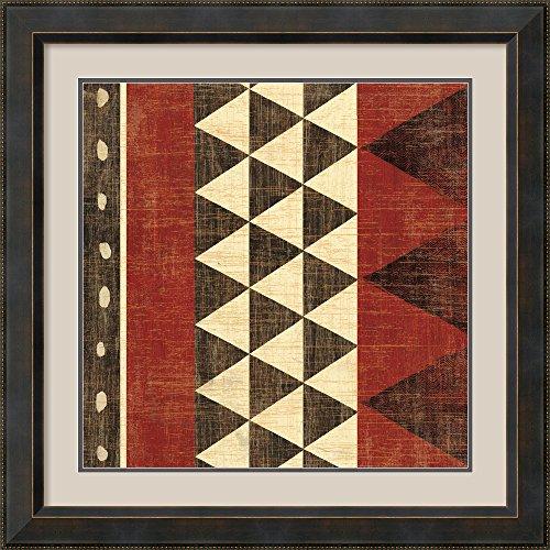 Patterns of the Savanna I by Moira Hershey Framed