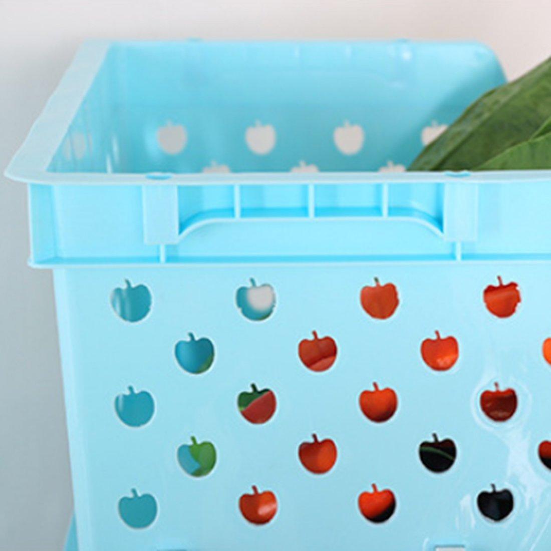 Oignons et Autres Fruits et L/égumes OviTop /Étag/ère /à Fruits et L/égumes Cellier pour Ranger Pommes de Terre 4 Panier a Fruit et L/égume Bacs /à L/égumes