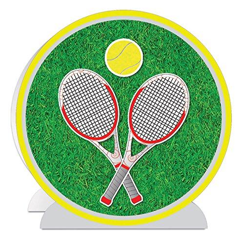Beistle 54736 Tennis Centerpiece Multicolor product image
