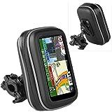 BORSA CUSTODIA IMPERMEABILE PORTA GPS + SUPPORTO MOTO BICI