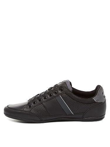 a3fe6d90f11 Lacoste Chaymon G117 1 SPM Black 47  Amazon.fr  Chaussures et Sacs