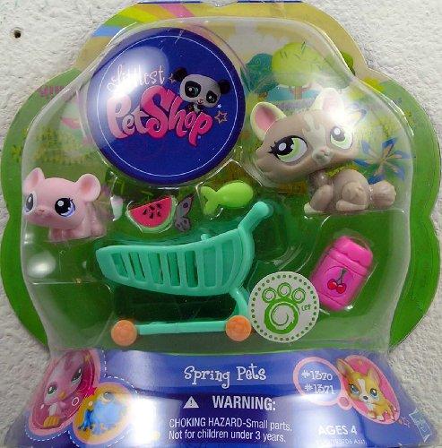 (Littlest Pet Shop Spring Pets Pair Cat & Mouse)