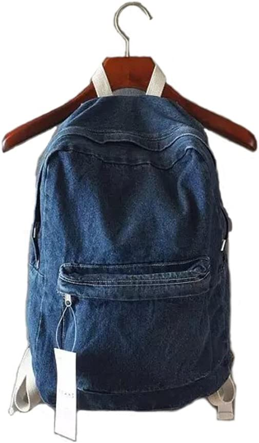 QP European and American Style Backpack//Unisex Backpack//Student Backpack//Personality Trend Color : White