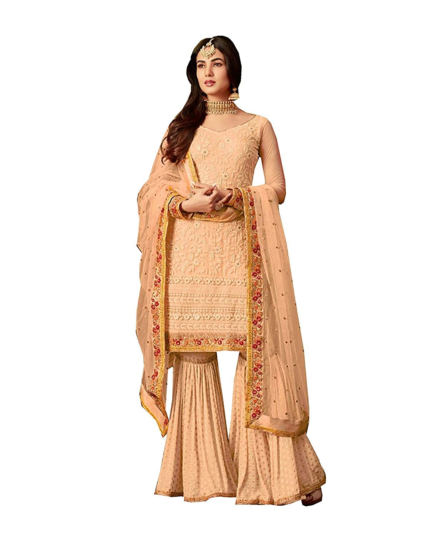 Choice 2 stylishfashion Net Latest Embroidered and with Beautiful Anarkali Designer Salwar Kameez