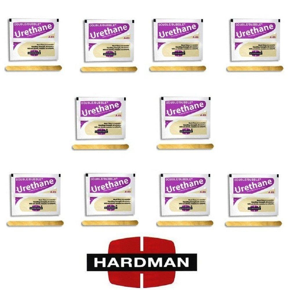 Epoxy Urethane Purple Beige 3.5g Double Bubble A-85 Packet Includes Ten Packs Hardman By Midwest Corvette