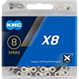 KMC - Cadena para Bicicleta, 8 velocidades