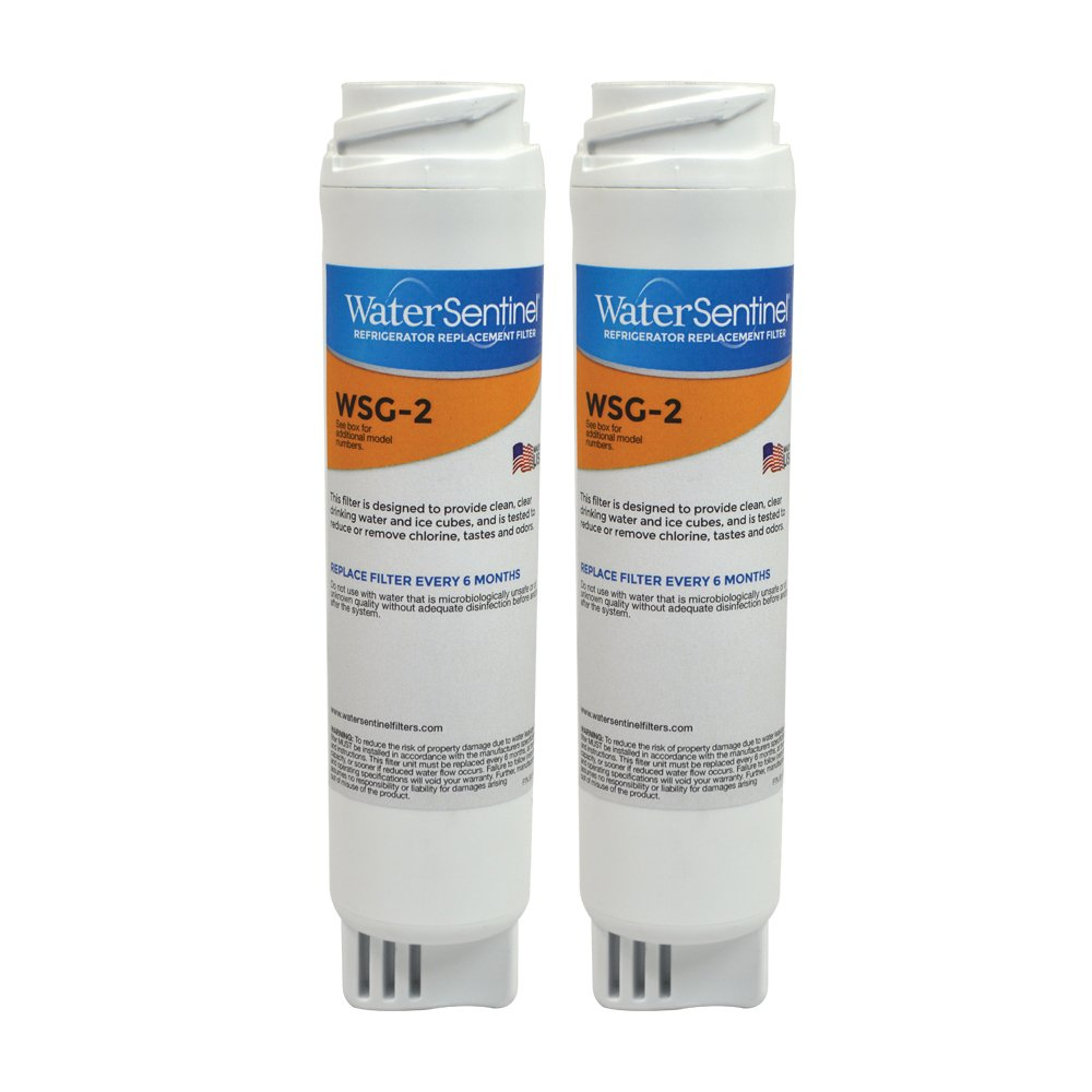 amazoncom wsg2 water filter replacement for ge filters fits ge gswf filters 2pack home improvement