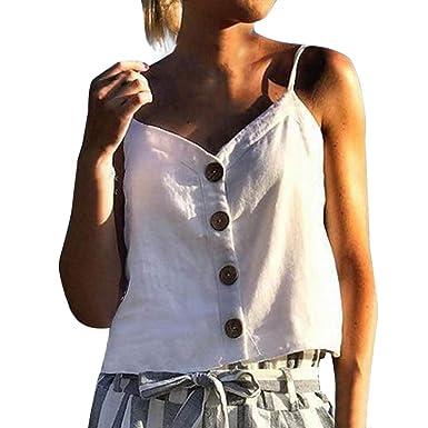 Fashion Style Women Fashion Summer Cloths Summer Sexy V-neck Silk Satin Sling Tank Camis Tops & Tees Women's Clothing