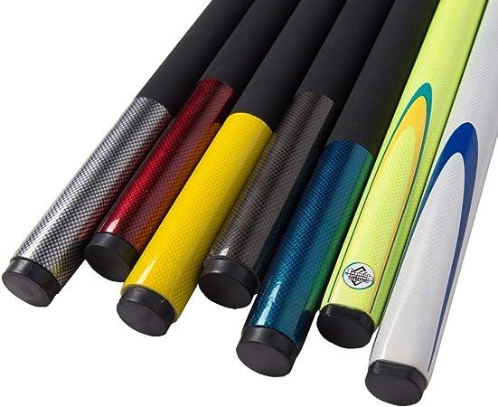 1/2 Snooker Cue Stick 9,5 mm Tip Club Tacos de Billar Blancos ...
