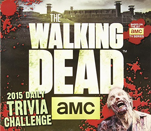 The Walking DeadTM Trivia Challenge 2015 Boxed - 2015 Walking Dead Calendar