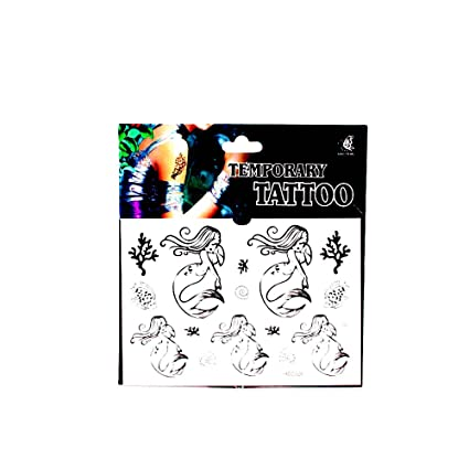 Tatuajes con sirenas,, conchas y corales: Amazon.es: Belleza