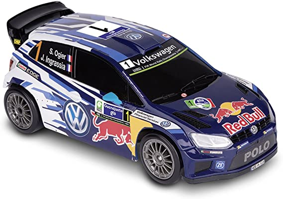 Happy People 36947 – Nikko RC Volkswagen Polo WRC 1: 16, vehículos ...