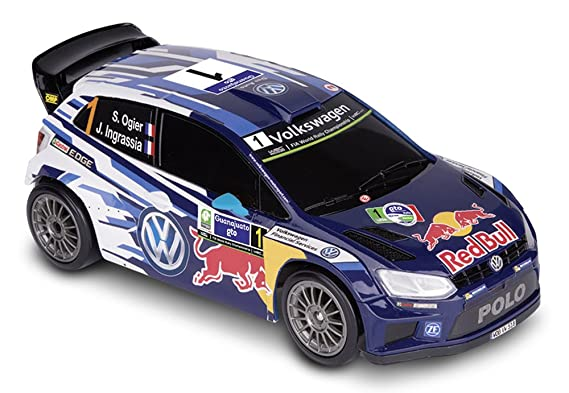Happy People 36947 - Nikko RC Volkswagen Polo WRC 1: 16, vehículos ...