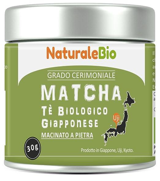 125 opinioni per Tè Verde Matcha Biologico in Polvere | Tea Verde Giapponese di 1 Grado | Matcha