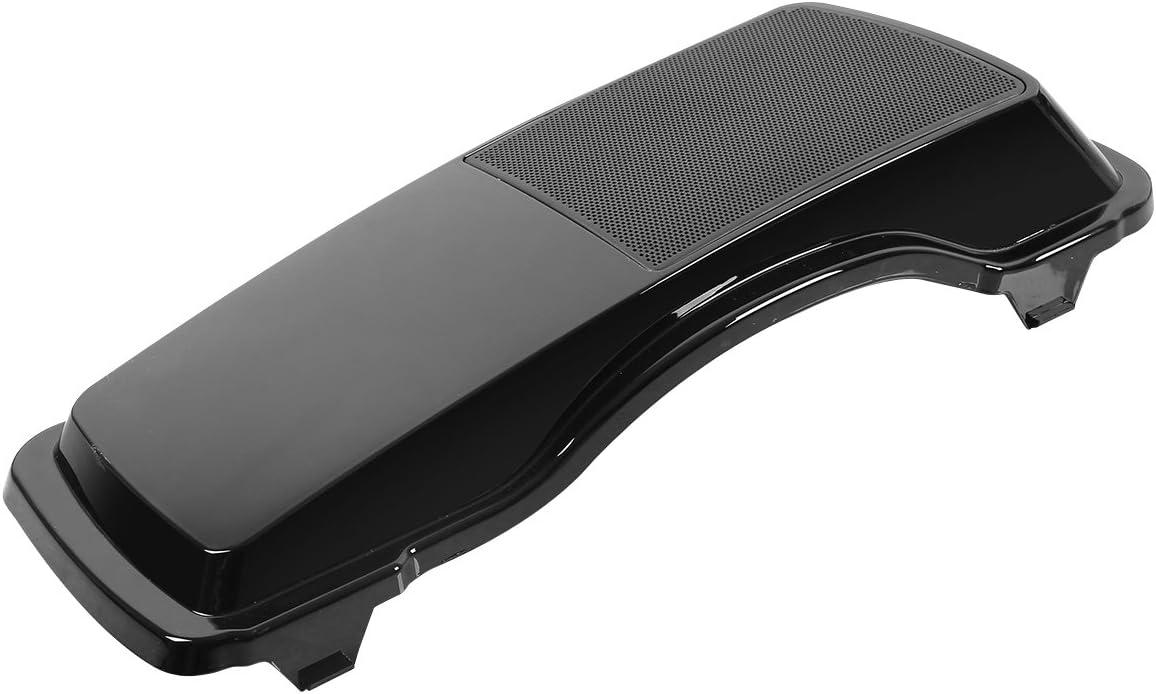 Black Saddlebag Speaker Lids 6 x 9 For Harley Davidson Touring Road King Glide 1993-2013