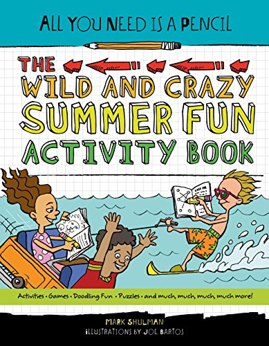 All You Need Is a Pencil: The Wild and Crazy Summer Fun Activity - Fun Is Maths
