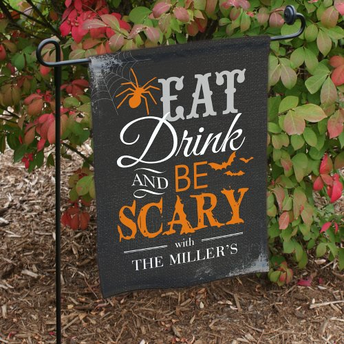 GiftsForYouNow Eat Drink & Be Scary Halloween Personalized G
