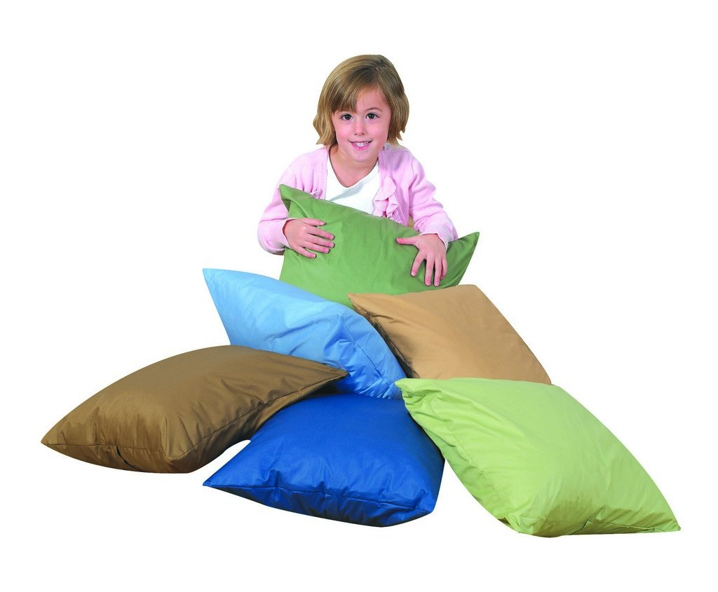 The Children's Factory 17'' Cozy Woodland Pillows - Set Of 6 W/Polyfill