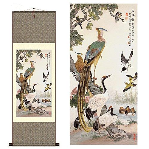 Sunmir (TM Silk Scroll Painting Song of The Phoenix