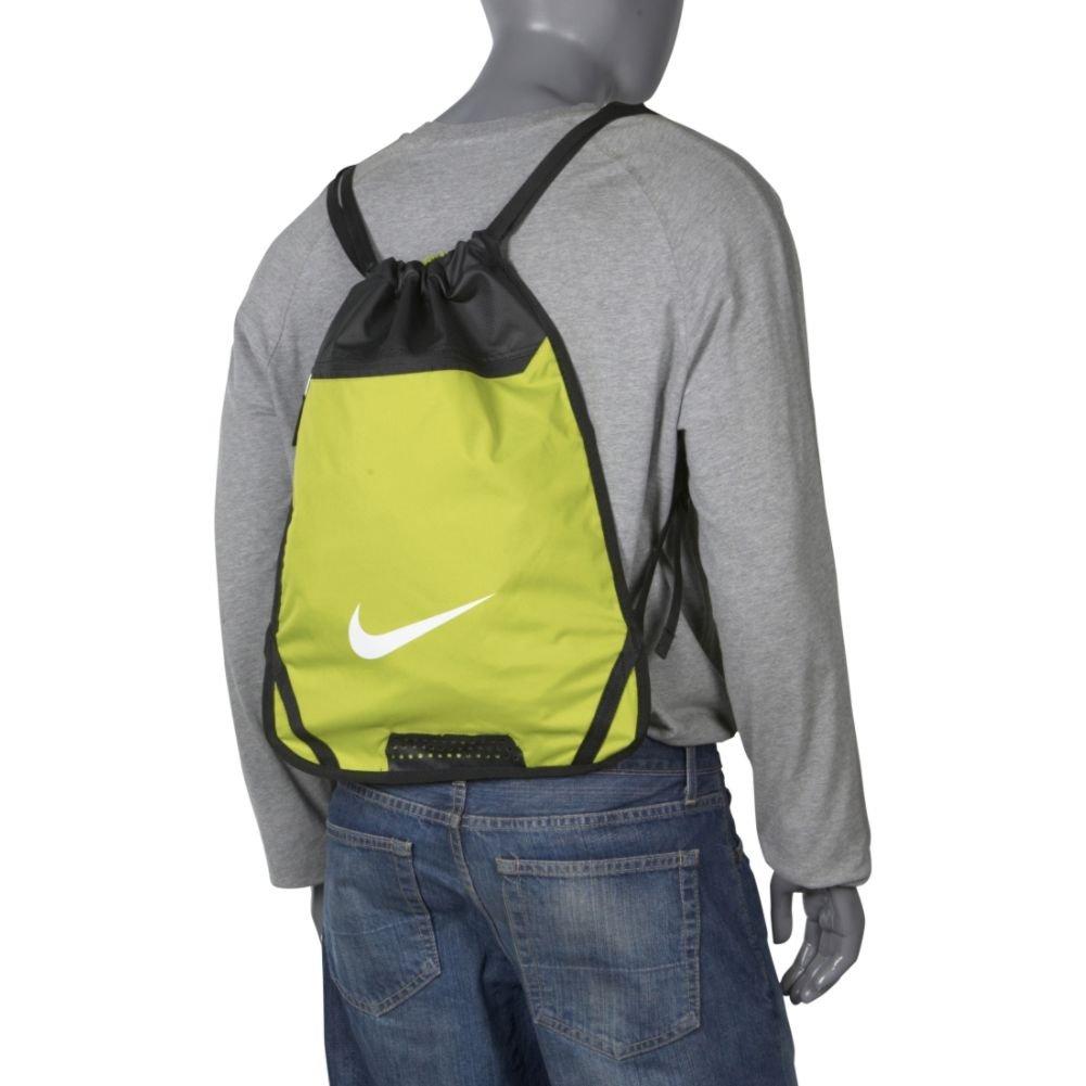 04009a95fa Amazon.com  Nike Team Training Gymsack (Deep Forest black white)  Clothing