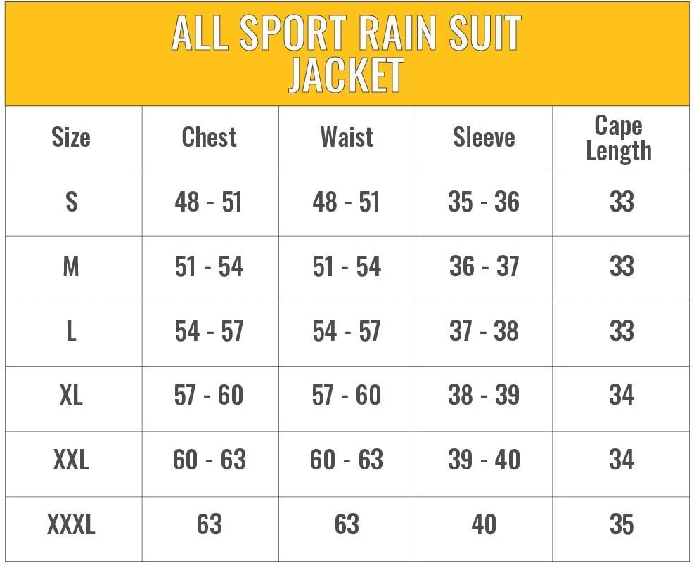 Frogg Togg Mens All Sport Rain Suit Pant