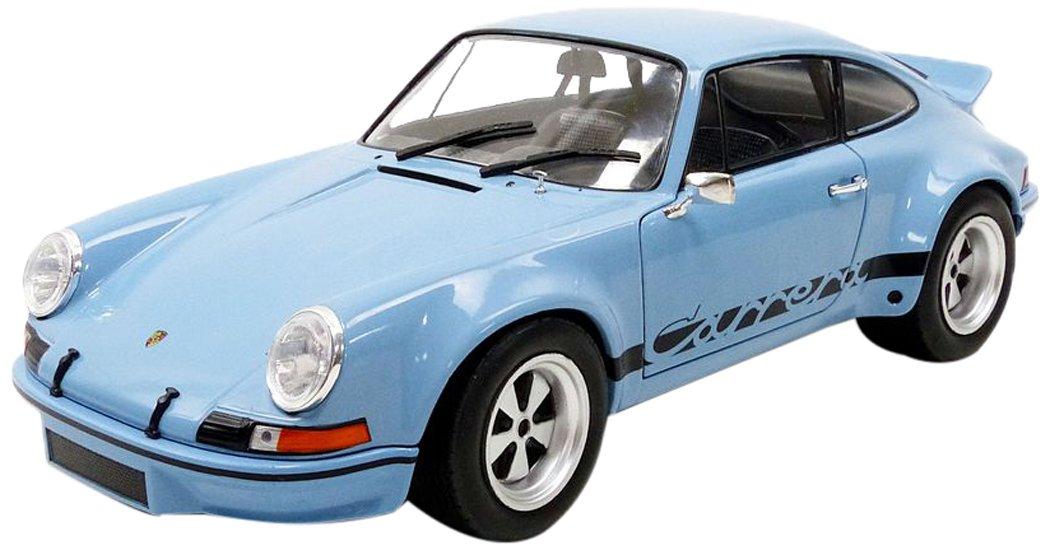 Solido S1801101 1974 Porsche 911 RSR DieCast Model, Gulf bluee, 1 18 Scale