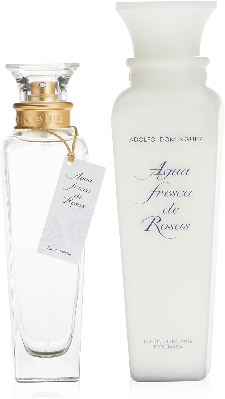 ADOLFO DOMINGUEZ AGUA ROSAS LOTE 2 piezas: Amazon.es: Belleza