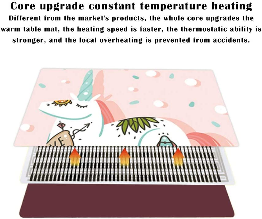 Office Warm Table mat Heating Heating pad Electric Heating pad Desktop Tabletop Laptop