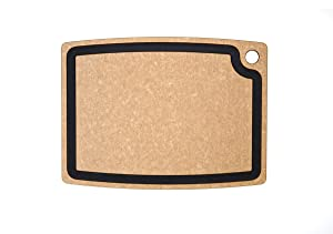 Epicurean Gourmet Series Cutting Board, 17.5-Inch by 13-Inch, Natural/Slate