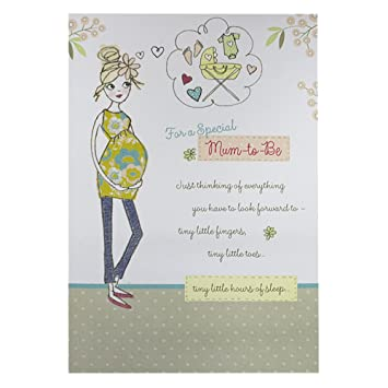 Hallmark New Baby Card For Mum Congratulations   Medium
