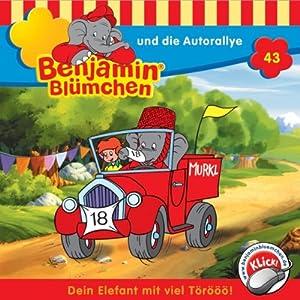 Benjamin und die Autorallye (Benjamin Blümchen 43) Hörspiel
