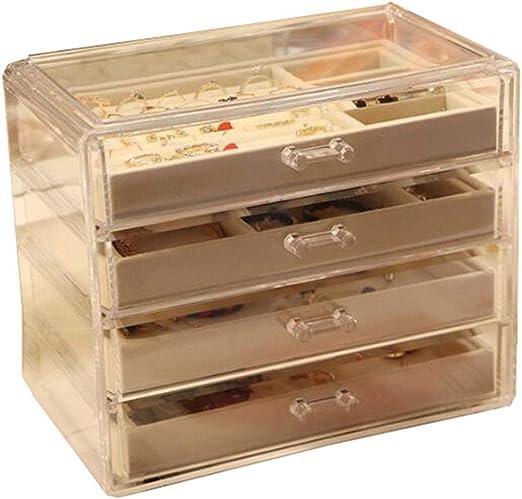 LIYANSSH - Cajas para joyas Caja de joyería de acrílico ...