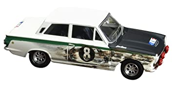 Ford Cortina MkI With Front Wing Damage Jim Clark