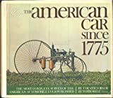 American Carss since 1775, Automobile Quarterly Editors, 052505300X