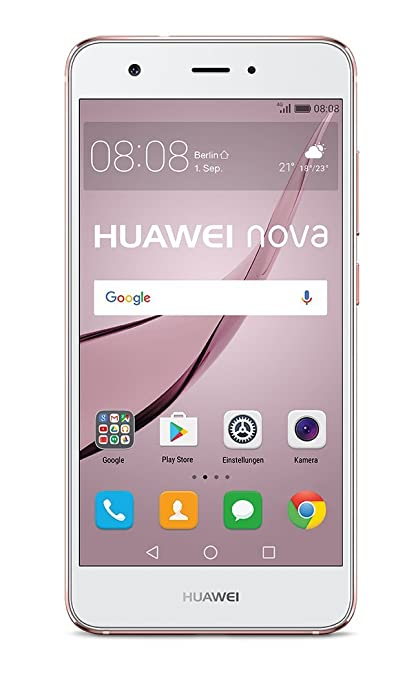 "8 opinioni per Huawei nova Dual SIM 4G 32GB Pink gold- smartphones (12.7 cm (5""), 32 GB, 12 MP,"