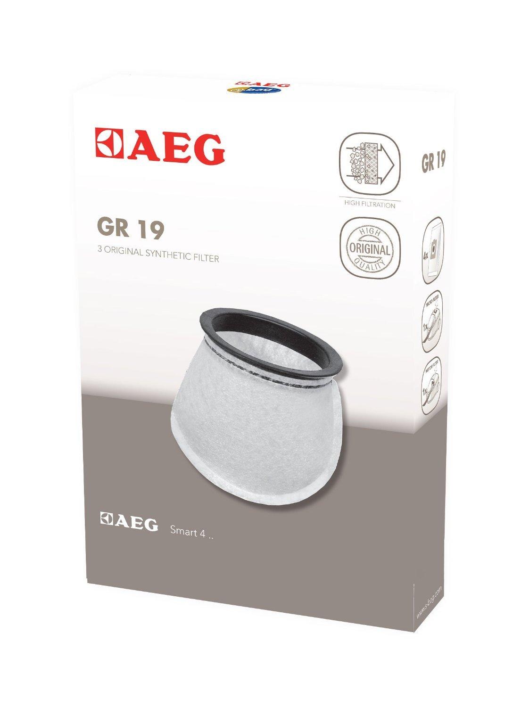 3 Original Staubsaugerbeutel geeignet für AEG-Electrolux Junior 2.0