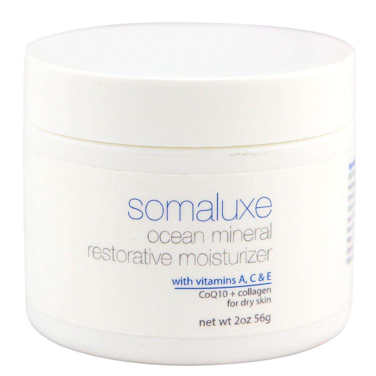 Restorative Moisturizer | CoQ10 + Collagen + Vitamins A, C & E | Daily for Flawless & Soft Complexion, 2oz
